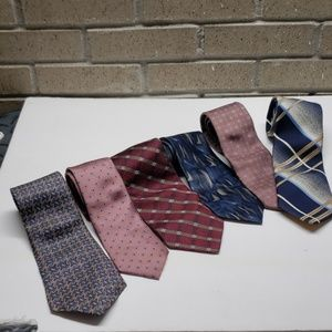 Neckties lot Wembley van heusen Hanover early 90s